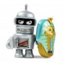 Bender 2/24 Futurama Universe X Series Mini Figurine Kidrobot