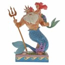Daddy's Little Princess (Ariel & Triton) Disney Traditions Enesco