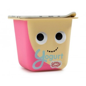 Yogurt 1/24 Yummy World Gourmet Snacks Vinyl Mini Series 3-Inch Figurine Kidrobot