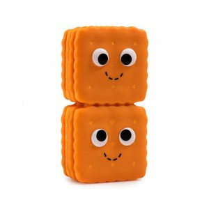 Crackers 1/24 Yummy World Gourmet Snacks Vinyl Mini Series 3-Inch Figurine Kidrobot