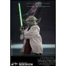 ACOMPTE 20% précommande Yoda AOTC MMS Figurine 1/6 Hot Toys