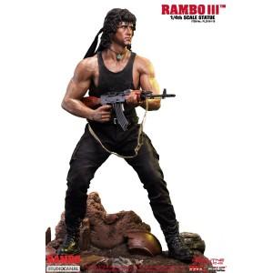 PRECOMMANDE Rambo III 1/4 Scale Premium Statue Phicen