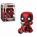 Deadpool on Scooter POP! Rides Figurine Funko