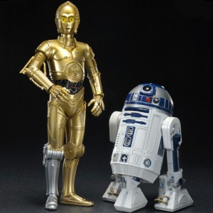 R2-D2 with C-3PO 1:10 Scale ARTFX+ Vinyl Figurines Kotobukiya