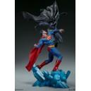 PRECOMMANDE Batman vs Superman Diorama Sideshow