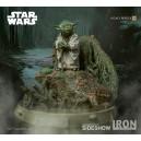 PRECOMMANDE Yoda 1:4 Scale Legacy Replica Statue Iron Studios