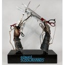 Edward's Scissorhands Life Size Prop Replica Hollywood Collectibles Group