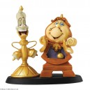Loyal Servants (Cogsworth & Lumière) Disney Enchanting Collection Enesco