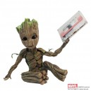 Awesome Groot GOTG2 Premium Motion Statue Factory Entertainment
