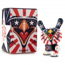 Dunny Indie Eagle by Kronk 3-Inch Figurine Kidrobot