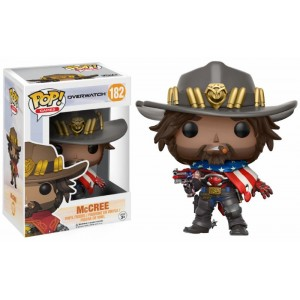 McCree (USA) Exclusive - Overwatch POP! Games Figurine Funko