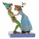 An Unexpected Kiss (Peter & Wendy) Disney Traditions Enesco