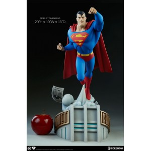 ACOMPTE 20% précommande Superman Animated Series Collection Statue Sideshow