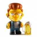 Snake 3/48 The Simpsons Moe's Tavern Vinyl Mini Series Mini Figurine Kidrobot