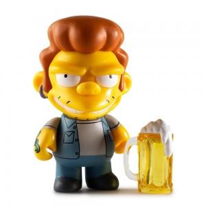 Snake 3/48 The Simpsons Moe's Tavern Vinyl Mini Series Mini Figurine Kidrobot