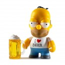 Drunk Homer 3/24 The Simpsons Moe's Tavern Vinyl Mini Series Mini Figurine Kidrobot
