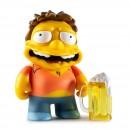 Burping Barney 3/48 The Simpsons Moe's Tavern Vinyl Mini Series Mini Figurine Kidrobot