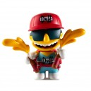Duffman with Spraying Duff Beer Bottles 3/24 The Simpsons Moe's Tavern Vinyl Mini Series Mini Figurine Kidrobot