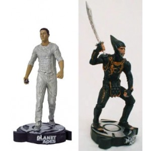 Planet of the Apes Leo + Thade Statues Neca