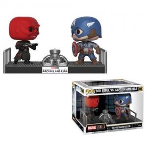 Red Skull Vs. Captain America - Cpt America POP! Marvel Movie Moments Figurine Funko
