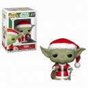 Yoda (Holiday) POP! Bobble-head Funko