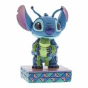 Strange Life-Forms (Stitch with Frog) Disney Traditions Enesco