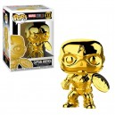 Captain America (Gold Chrome) 10th MCU Anniv. POP! Marvel Figurine Funko