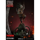 PRECOMMANDE Cracked Tusk Predator Statue Prime 1 Studio