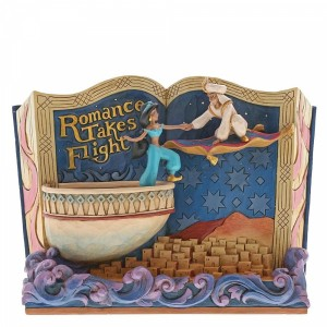 Romance Takes Flight (Aladdin) Storybook Disney Traditions Enesco