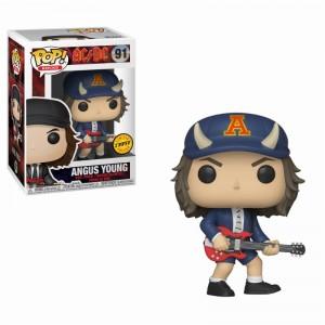 Angus Young Chase - AC/DC POP! Rocks Figurine Funko