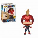 Captain Marvel Chase - Captain Marvel POP! Marvel Bobble-head Funko