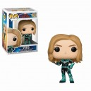 Vers - Captain Marvel POP! Marvel Bobble-head Funko