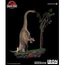 PRECOMMANDE Welcome To Jurassic Park 1:20 Scale Diorama Iron Studios