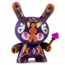 Jewel Guardian 1/24 Designer Con Mini Series Collectible Art Object Dunny 3-Inch Figurine Kidrobot