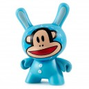 Julius Bunny (Blue) 3/24 Designer Con Mini Series Dunny 3-Inch Figurine Kidrobot