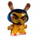 Kung Fu 3/48 Designer Con Mini Series Dunny 3-Inch Figurine Kidrobot