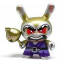 Shao Ru the Kung Fu (Gold) ??/?? Designer Con Mini Series Dunny 3-Inch Figurine Kidrobot