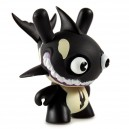 Claude from the Pod (Black) 2/24 Designer Con Mini Series Dunny 3-Inch Figurine Kidrobot