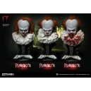 PRECOMMANDE Pennywise - It 1:2 Scale 3-Bustes Set Prime 1 Studio
