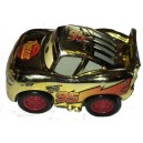 Gold Lightning McQueen Cars 3 Die-Cast Mini Racers Mattel