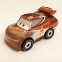 Silver Tim Treadless Cars 3 Die-Cast Mini Racers Mattel