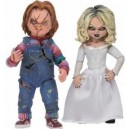 "Ultimate Chucky & Tiffany 7"" Scale 2-Pack Figurines Neca"
