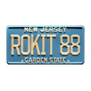 Jet Car HB 88 ROKIT 88 License Plate Buckaroo Banzai
