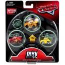3-Pack Cars 3 Die-Cast Mini Racers Glow Thomasville Cruz Ramirez  Exclusive Mattel