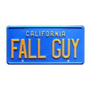 GMC Pickup Truck FALL GUY License Plate The Fall Guy