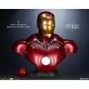 ACOMPTE 20% précommande Iron Man Mark III Life Size Buste Sideshow