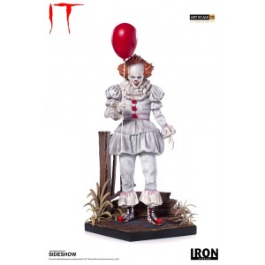 Pennywise - It Movie 1/10 Deluxe Art Scale Statue Iron Studios