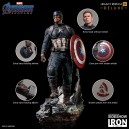 PRECOMMANDE Captain America (Deluxe) Avengers Endgame 1:4 Legacy Replica Statue Iron Studios