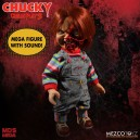 "Pizza Face Chucky - Child's Play 3 Talking Figurine 15"" Mezco"