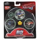 3-Pack Cars 3 Die-Cast Mini Racers Glow Danny Swervez  Exclusive Mattel